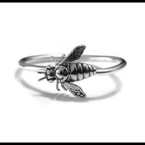 nejd Jewelry - 925 Sterling Silver bee ring